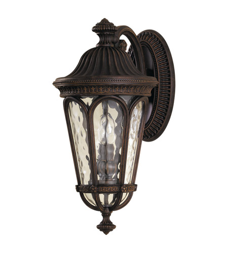 Feiss Regent Court 2 Light Outdoor Wall Sconce in Walnut OL5601WAL photo