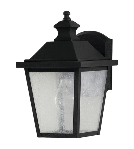 Feiss OL5700BK Woodside Hills 1 Light 11 inch Black Outdoor Wall Sconce in Standard photo