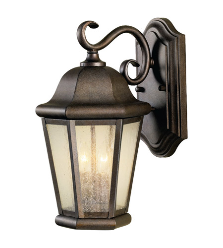 Feiss Martinsville 2 Light Outdoor Wall Sconce in Corinthian Bronze OL5901CB photo