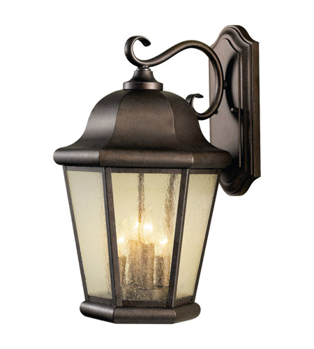 Feiss OL5904CB Martinsville 4 Light 20 inch Corinthian Bronze Outdoor Wall Sconce photo