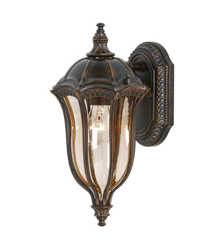 Feiss OL6001WAL Baton Rouge 1 Light 15 inch Walnut Outdoor Wall Sconce photo