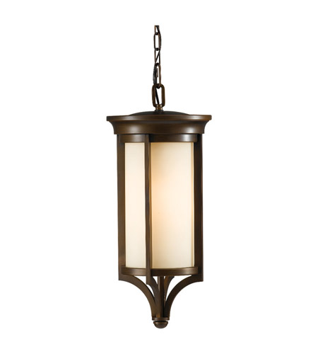 Feiss Merrill 2 Light Outdoor Hanging Lantern in Heritage Bronze OL7511HTBZ photo