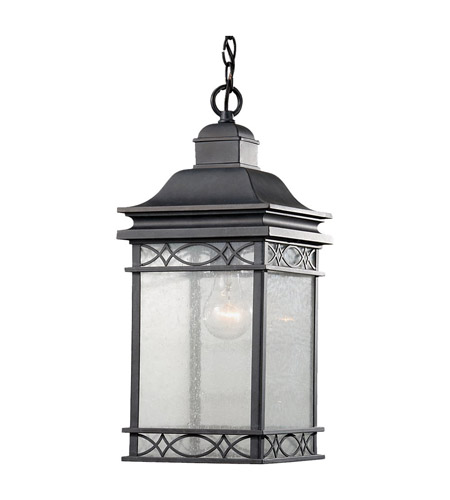 Feiss Liberty 1 Light Outdoor Hanging Lantern in Fog OL8011FOG photo