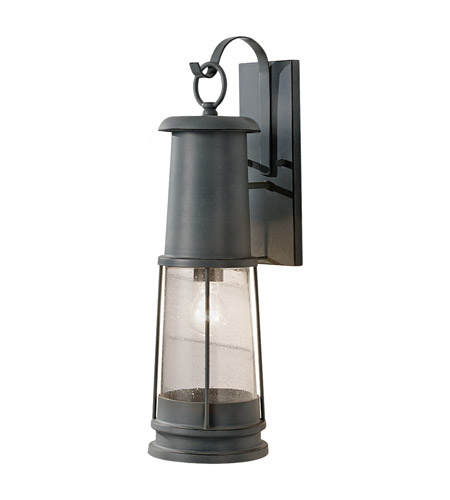 Feiss OL8102STC Chelsea Harbor 1 Light 24 inch Storm Cloud Outdoor Wall Sconce in Standard  photo