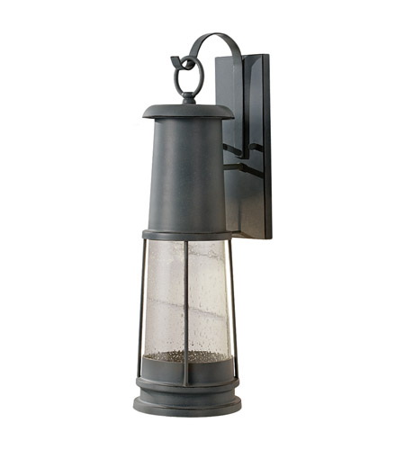 Feiss Chelsea Harbor 1 Light Outdoor Wall Sconce in Storm Cloud OL8202STC photo