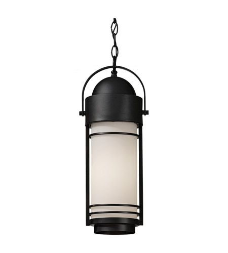 Feiss Carbondale 1 Light Outdoor Hanging Lantern in Dark Chocolate OL8311DRC photo