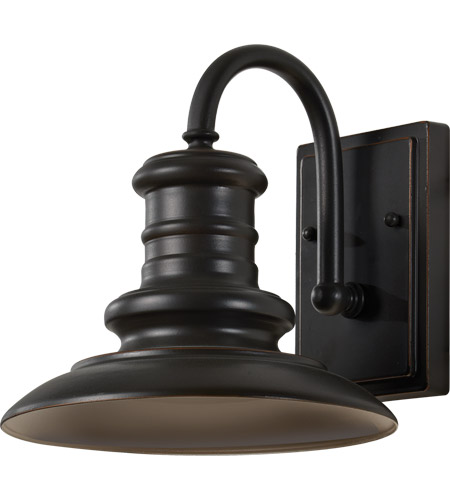 Feiss OL8600RSZ/T Redding Station 1 Light 10 inch Restoration Bronze Outdoor Wall Lantern photo thumbnail