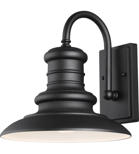 Feiss OL8601TXB Redding Station 1 Light 13 inch Textured Black Outdoor Wall Sconce photo