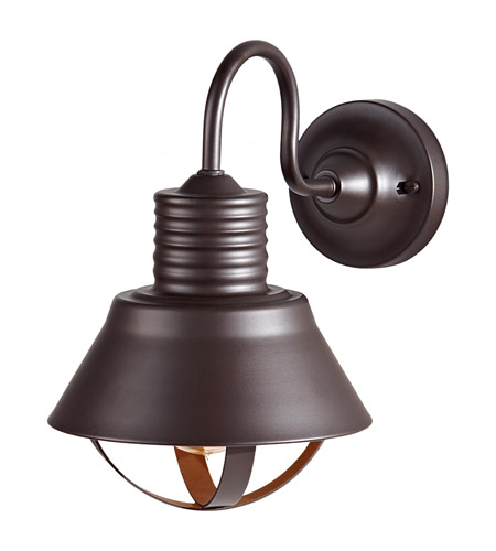 Feiss Derek 1 Light Outdoor Wall Sconce in Oil Rubbed Bronze OL8801ORB photo