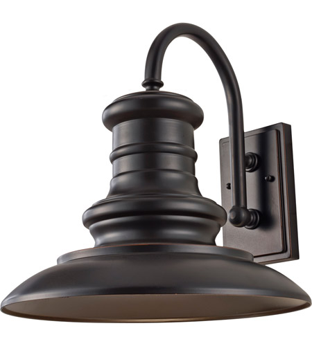 Feiss OL9004RSZ Redding Station 1 Light 16 inch Restoration Bronze Outdoor Wall Sconce photo