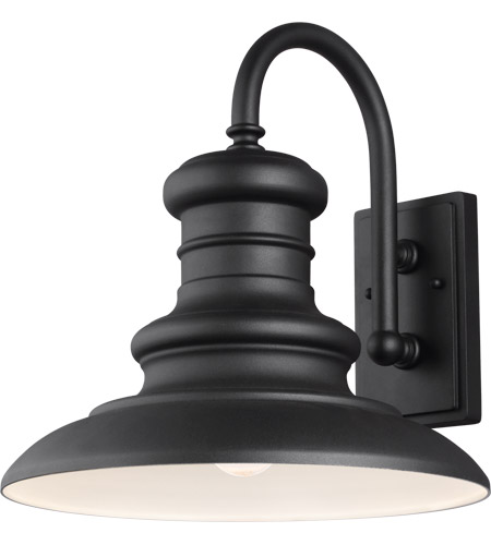 Feiss OL9004TXB Redding Station 1 Light 16 inch Textured Black Outdoor Wall Sconce photo