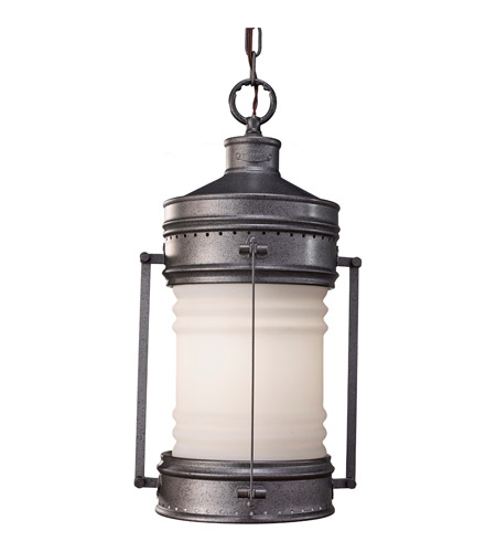 Feiss Dockyard 1 Light Outdoor Hanging Lantern in Oil Can OL9111OLC photo