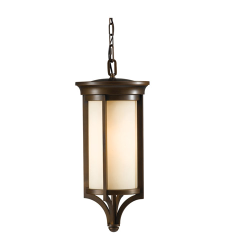 Feiss Merrill 1 Light Outdoor Hanging Lantern in Heritage Bronze OLPL10211HTBZ photo