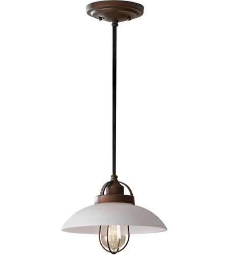Feiss P1241BZP Urban Renewal 1 Light 10 inch Bronze Patina Mini Pendant Ceiling Light in Standard photo