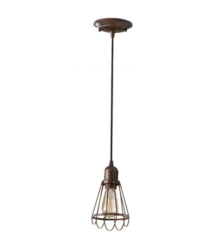 Feiss P1247PRZ Urban Renewal 1 Light 5 inch Parisian Bronze Mini Pendant Ceiling Light in Standard photo