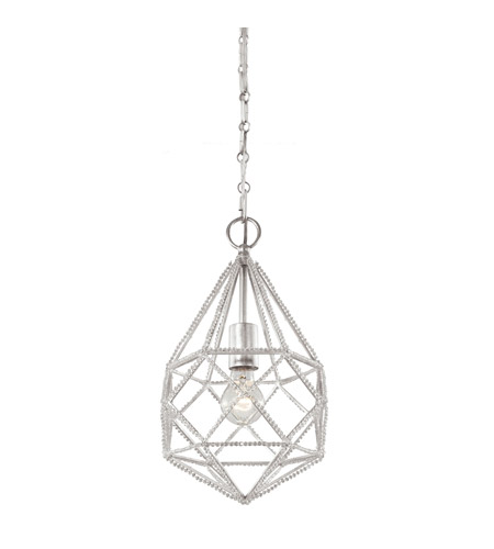 Feiss P1313SLV Marquise 1 Light 10 inch Silver Pendant Ceiling Light photo thumbnail