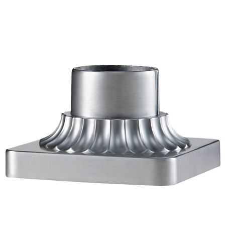Feiss PIER-MT-BRAL Pier Mounting 6 inch Brushed Aluminum Pier and Post Accessory photo