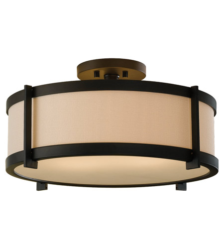 Feiss Stelle 2 Light Semi Flush Mount in Oil Rubbed Bronze SF272ORB photo
