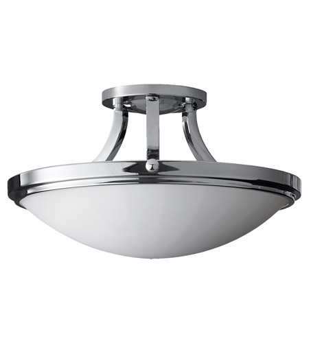 Feiss Perry 2 Light Semi Flush Mount in Chrome SF283CH photo