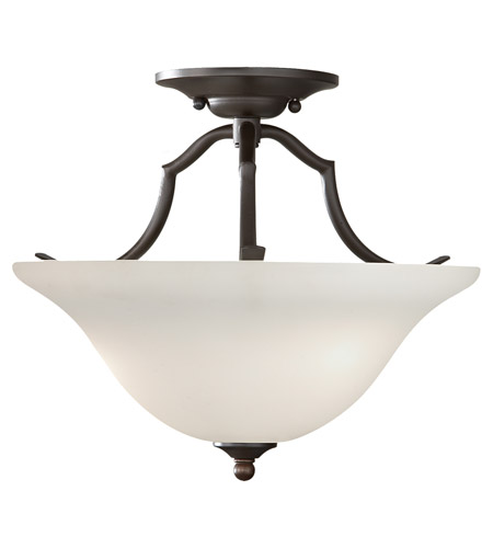 Feiss Beckett 2 Light Semi Flush Mount in Oil Rubbed Bronze SF294ORB photo