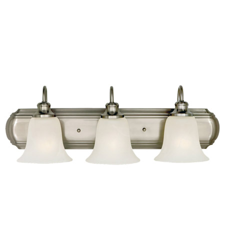 Feiss Vista 3 Light Vanity Strip in Brushed Steel VS10703-BS photo