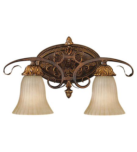 Feiss VS10902-ATS Sonoma Valley 2 Light 19 inch Aged Tortoise Shell Vanity Strip Wall Light in 18.5 photo