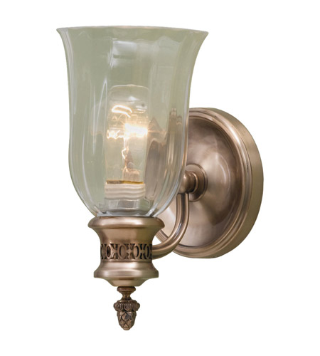 Feiss Bernadette 1 Light Vanity In Brushed Bronze Vs13901 Bv