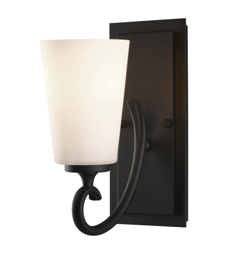 Feiss Peyton 1 Light Vanity Strip in Black VS16501-BK photo