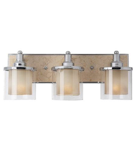 Feiss Belleaire 3 Light Vanity Strip in Chrome VS17103CH photo