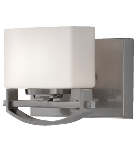 Feiss Bleeker Street 1 Light Vanity Strip in Brushed Steel VS18201-BS photo