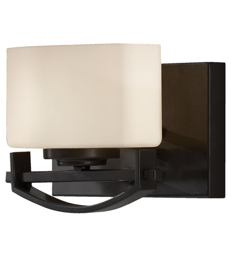 Feiss Bleeker Street 1 Light Vanity Strip in Oil Rubbed Bronze VS18201-ORB photo