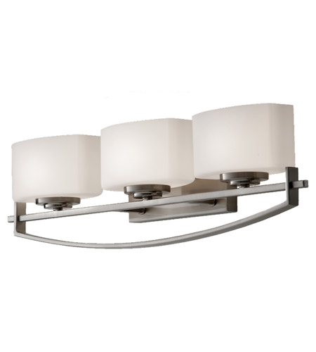 Feiss Bleeker Street 3 Light Vanity Strip in Brushed Steel VS18203-BS photo