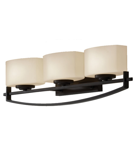 Feiss Bleeker Street 3 Light Vanity Strip in Oil Rubbed Bronze VS18203-ORB photo