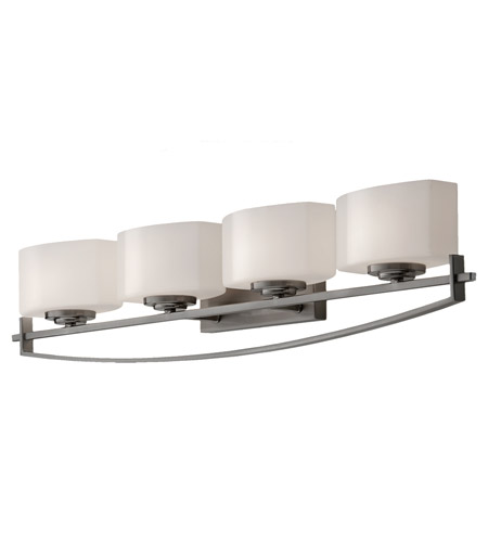 Feiss Bleeker Street 4 Light Vanity Strip in Brushed Steel VS18204-BS photo
