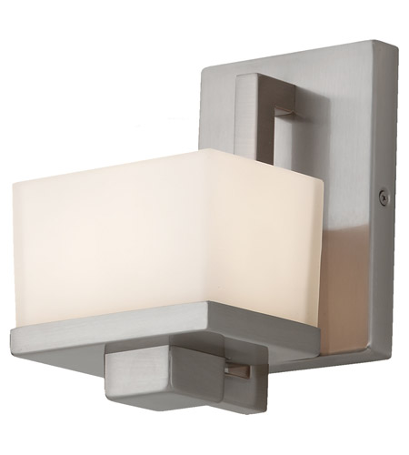 Feiss Tierney 1 Light Vanity Strip in Brushed Steel VS18301-BS photo