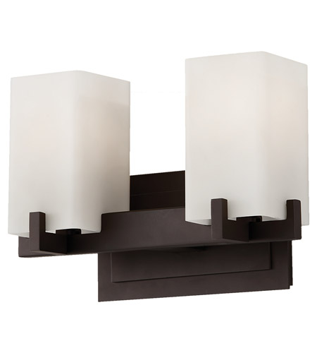 Feiss Riva 2 Light Vanity Strip in Oil Rubbed Bronze VS18402-ORB photo