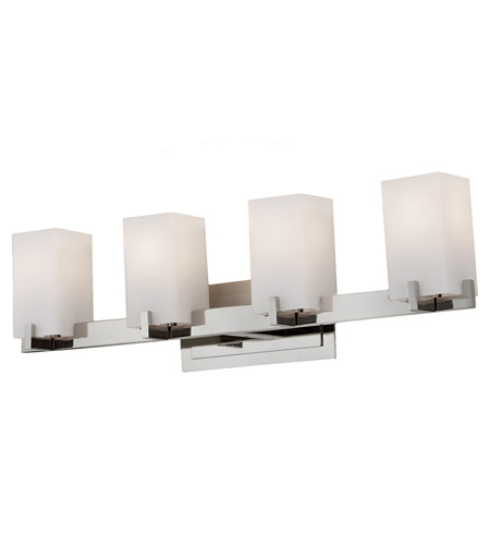 Feiss Riva 4 Light Vanity Strip in Polished Nickel VS18404-PN photo
