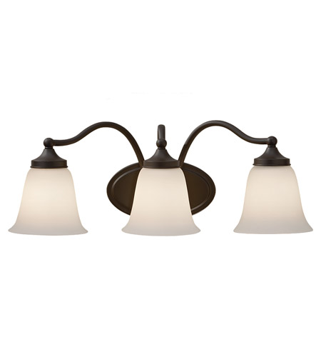Feiss Beckett 3 Light Vanity Strip in Oil Rubbed Bronze VS18503-ORB photo