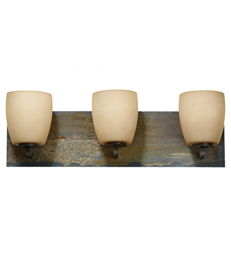 Feiss Quarry 3 Light Vanity Strip In Oil Rubbed Bronze And