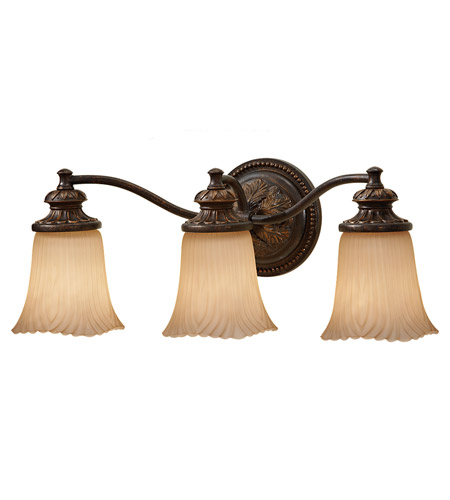 Feiss VS19503-GBZ Emma 3 Light 22 inch Grecian Bronze Vanity Strip Wall Light in 21.5 photo