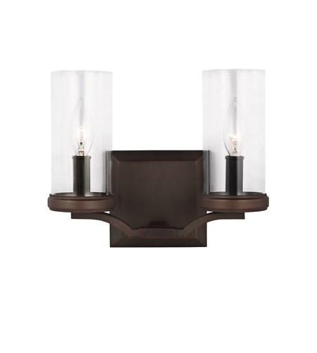 Murray Feiss Bathroom Lighting: Feiss VS23202DAC/AC Jacksboro 2 Light 11 Inch Dark Antique