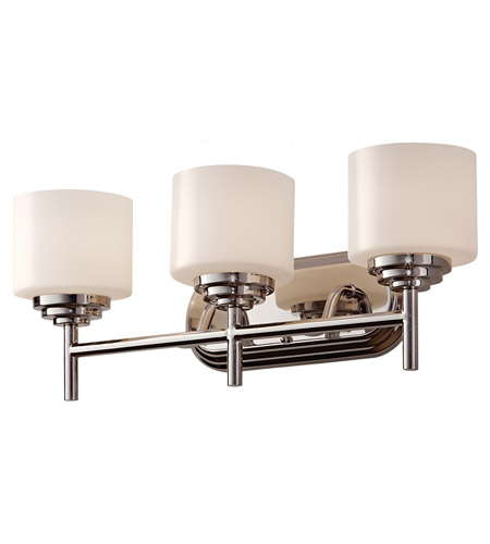Feiss VS26003-PN Malibu 3 Light 22 inch Polished Nickel Vanity Strip Wall Light photo
