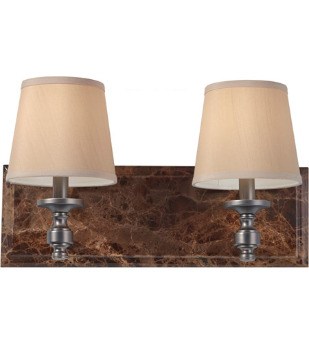 Feiss Carrollton 2 Light Vanity Strip in Plated Oil Rubbed Bronze VS34002-PORB photo