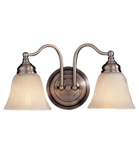 Feiss Bristol 2 Light Vanity Strip in Pewter VS6702-PW photo