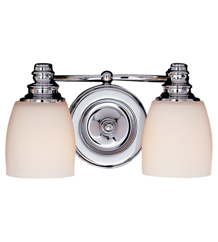 Feiss VS7402-CH Bentley 2 Light 12 inch Chrome Vanity Strip Wall Light photo