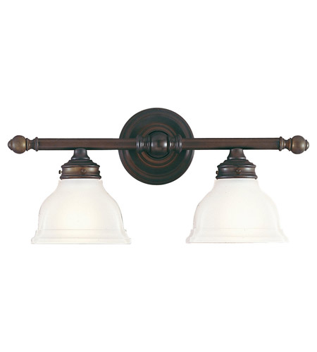 Feiss New London 2 Light Vanity Strip in Oil Rubbed Bronze VS7702-ORB photo