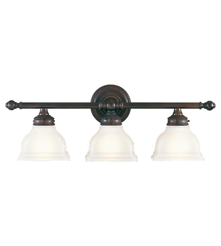 Feiss VS7703-ORB New London 3 Light 25 inch Oil Rubbed Bronze Vanity Strip Wall Light photo