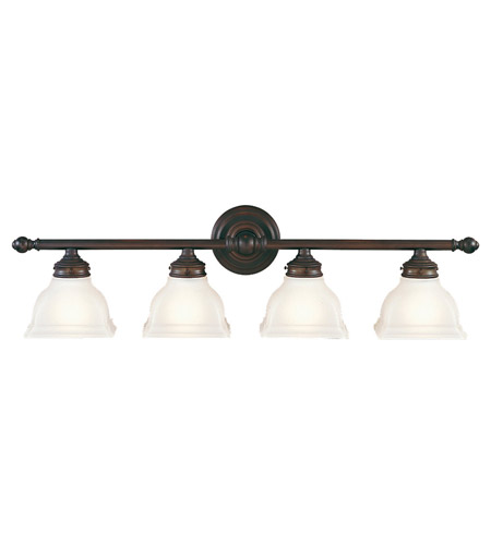 Feiss New London 4 Light Vanity Strip in Oil Rubbed Bronze VS7704-ORB photo