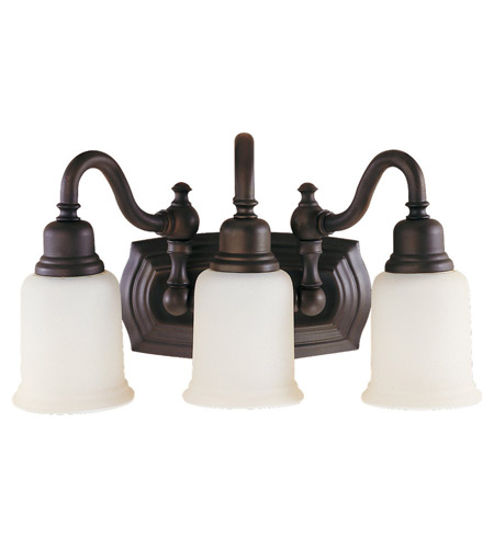 Feiss VS8003-ORB Canterbury 3 Light 19 inch Oil Rubbed Bronze Vanity Strip Wall Light photo
