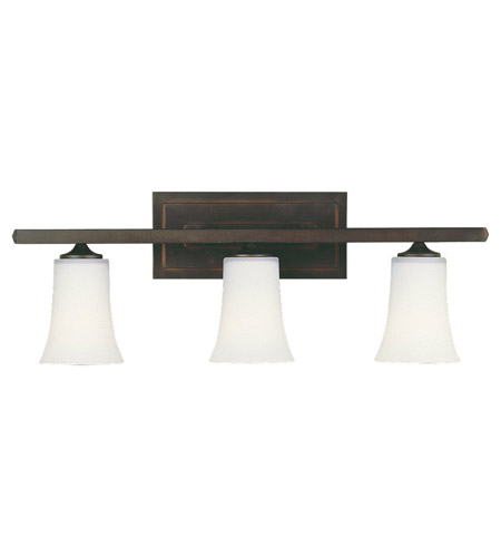 Feiss Boulevard 3 Light Vanity Strip in Oil Rubbed Bronze VS8703-ORB photo